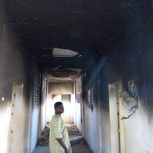 lycée des jeunes filles de Parakou: un an après l'incendie du dortoir; rien n'a changé