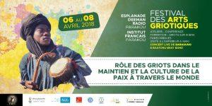 Culture: du 06 au 08 avril, le 2ème «Festival des Arts Griotiques» prend sa dimension internationale