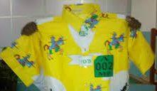Parakou: les tissus de maillot des zémidjans enfin arrivés.