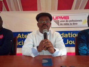 Suspension du quotidien «la nouvelle tribune», le président de l'UPMB s'insurge contre la décision de la HAAC