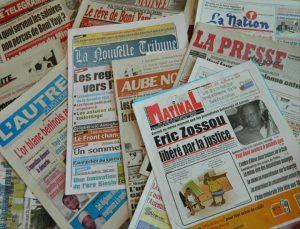Bénin: La Revue de Presse du mercredi 16 Janvier 2019